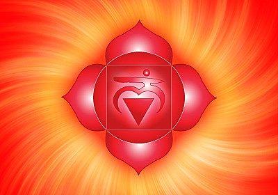 1) The root chakra or Muladhara