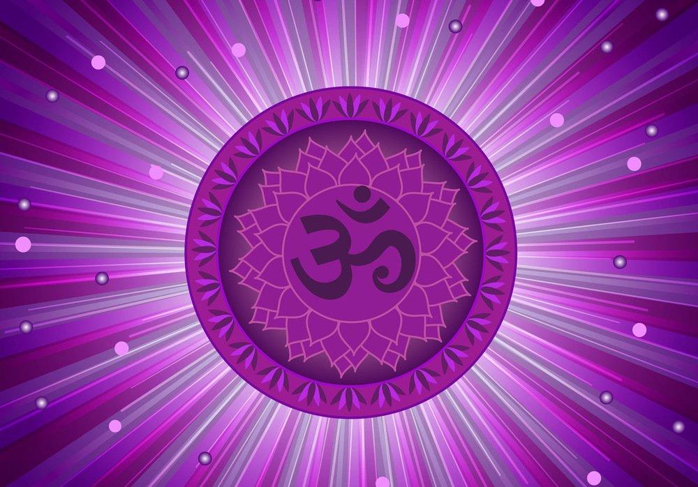 7) The Crown Chakra or Sahasrara