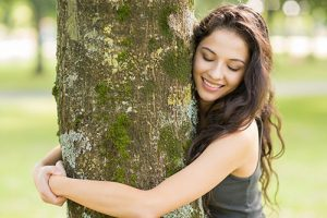 Hugging the trees, a natural medicine