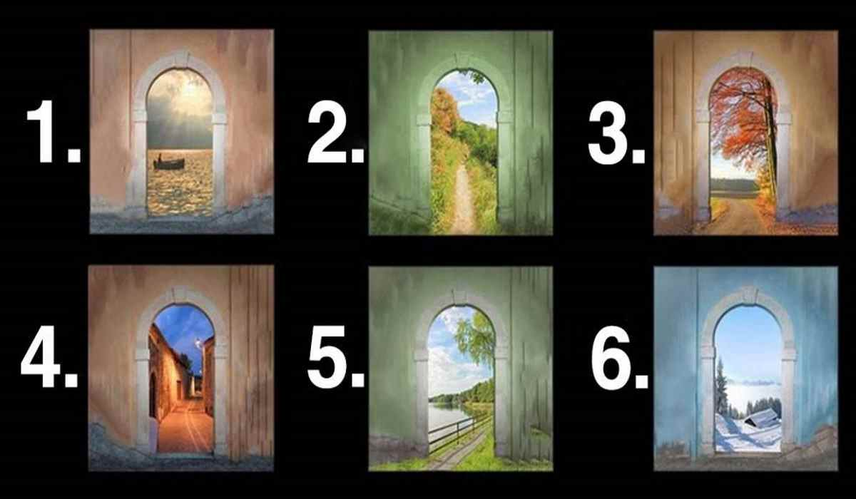 Choose a Door and See What it Reveals About your Personality