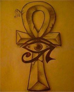 The cross of Ankh