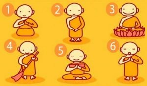 Spiritual Test: Choose a Buddhist Monk and Receive a Powerful Message