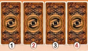 Choose One of these Four Cards and Discover the Message the Oracle Has for You
