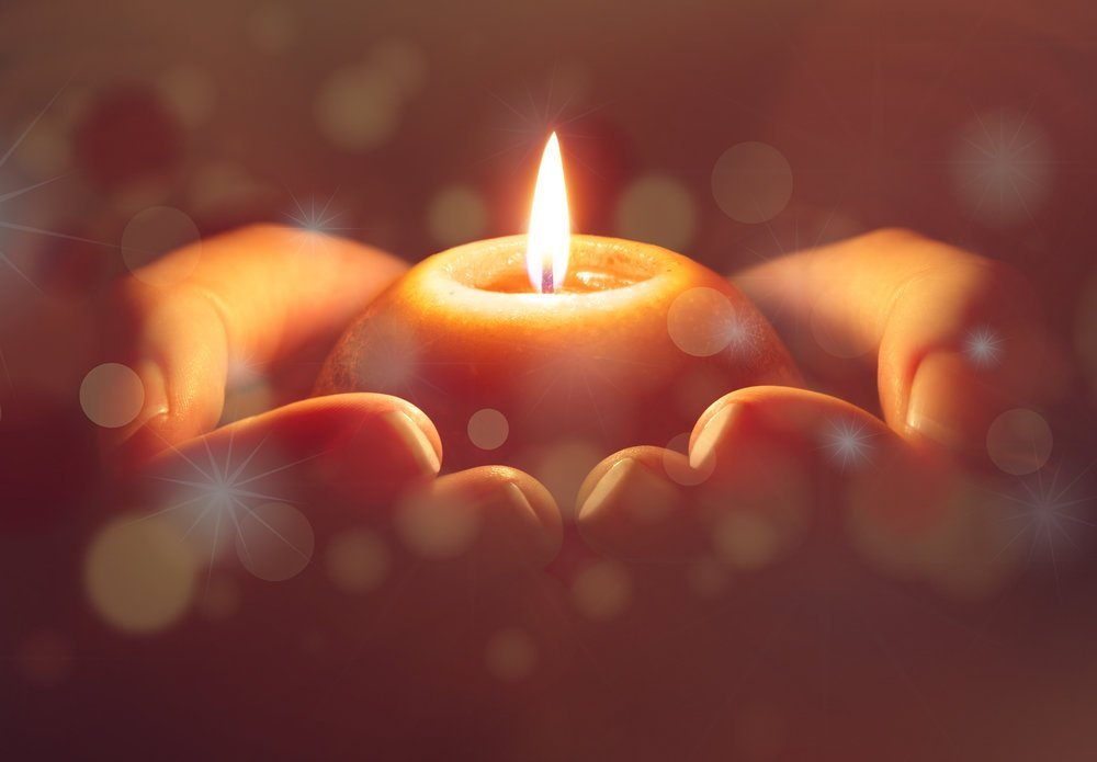 How to do candle meditation