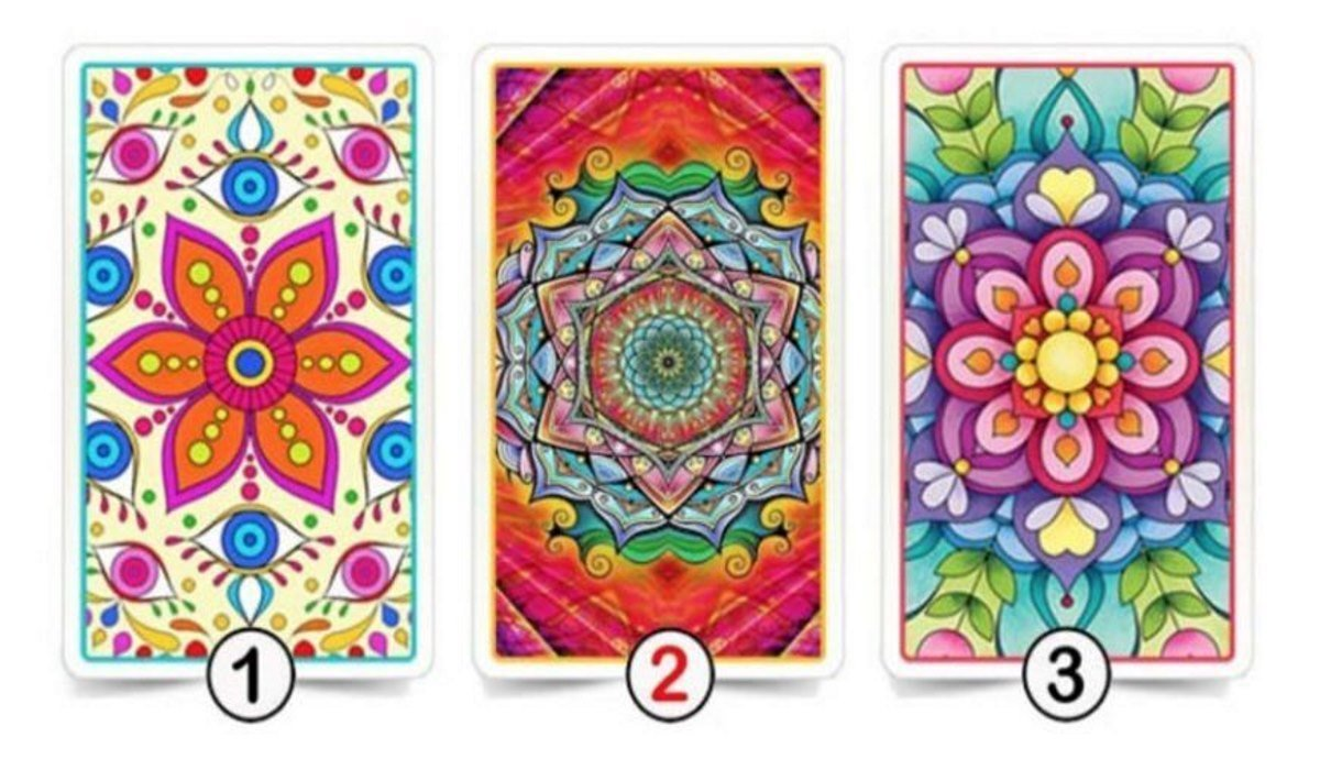 Choose One of the Mandala Cards to Discover Amazing Aspects of Your Life