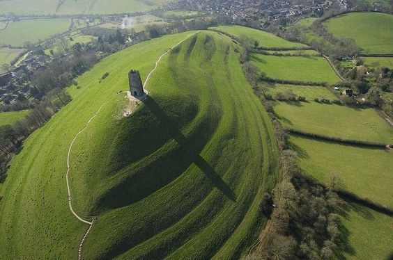 Glastonbury, Somerset and Shaftesbury, Dorset