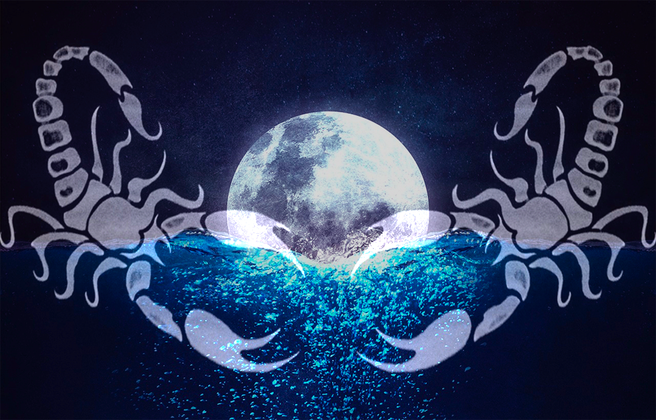 New Moon in Scorpio on October 27, 2019