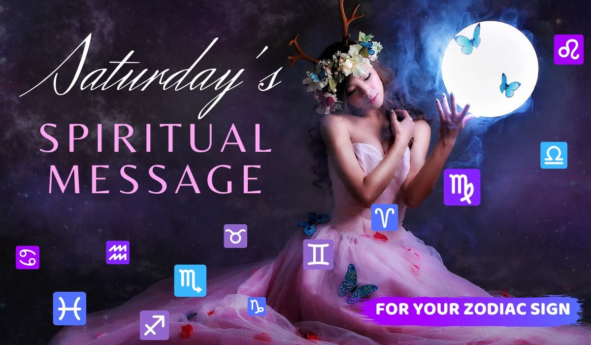 Today's Spiritual Message for Your Zodiac Sign! November 23, 2019