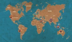 The Earth Chakras, Here Are the 7 High Energy Potential Places