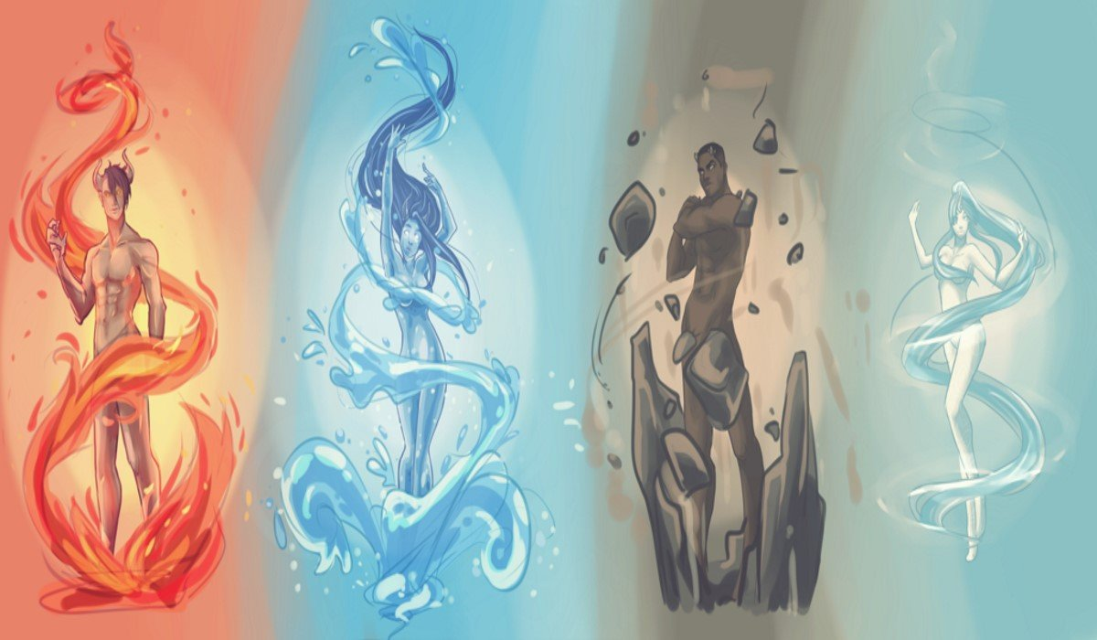 What Kind of Elemental Spirit Do You Have? Fire, Air, Water or Earth?