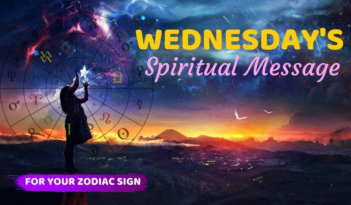 Today's Spiritual Message for Your Zodiac Sign! March 24, 2021
