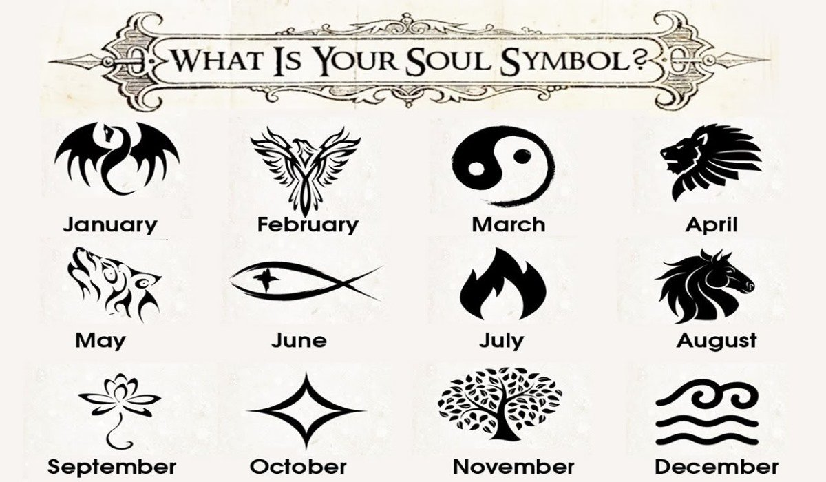 What Is Your Soul Symbol, According to Your Birth Month