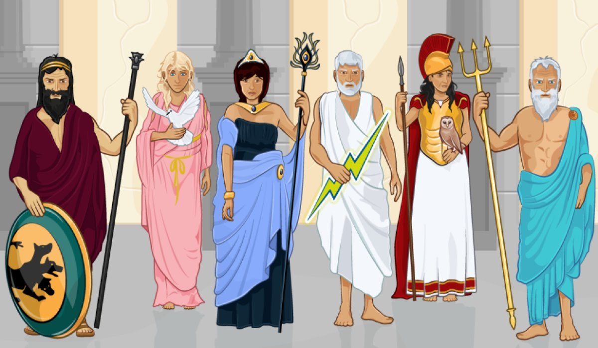 The Greek God/Goddess Mostly Associated with Each Sign of the Zodiac