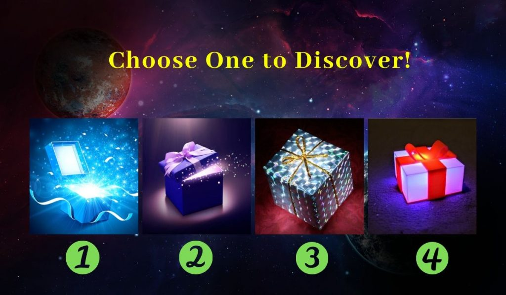What Magical Gift Is the Universe Sending You Right Now? Choose One and Find Out!