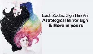 What is the Astrological Mirror Sign, of Your Zodiac Sign