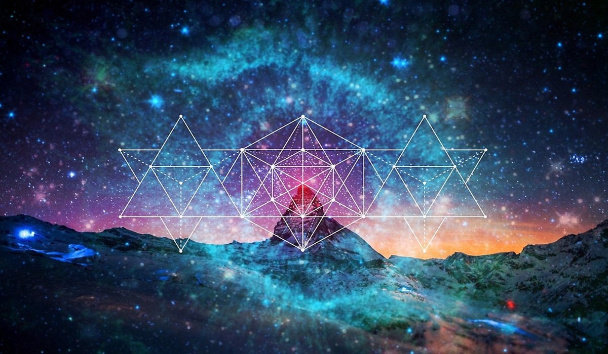 The Only Fixed Thing in the Whole Cosmos, Sacred Geometry