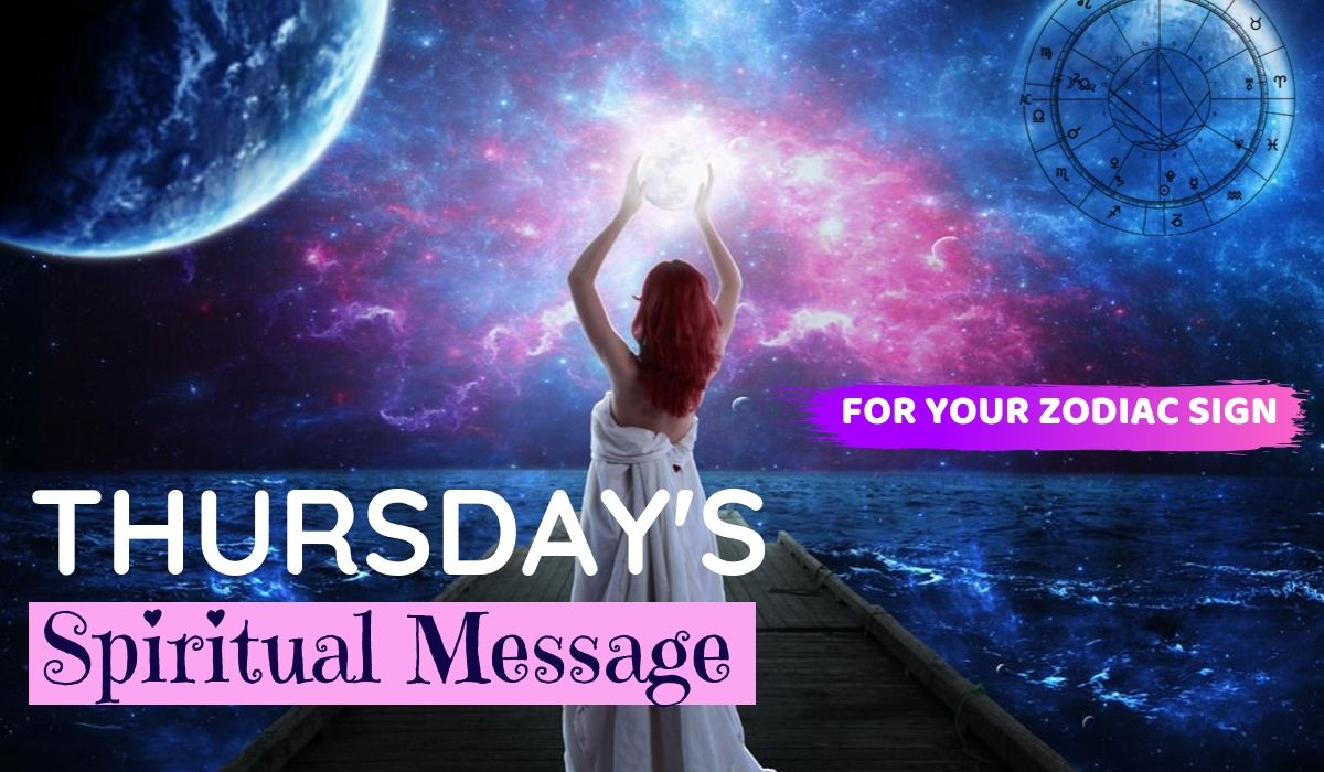 Today's Spiritual Message for Your Zodiac Sign! March 25, 2021