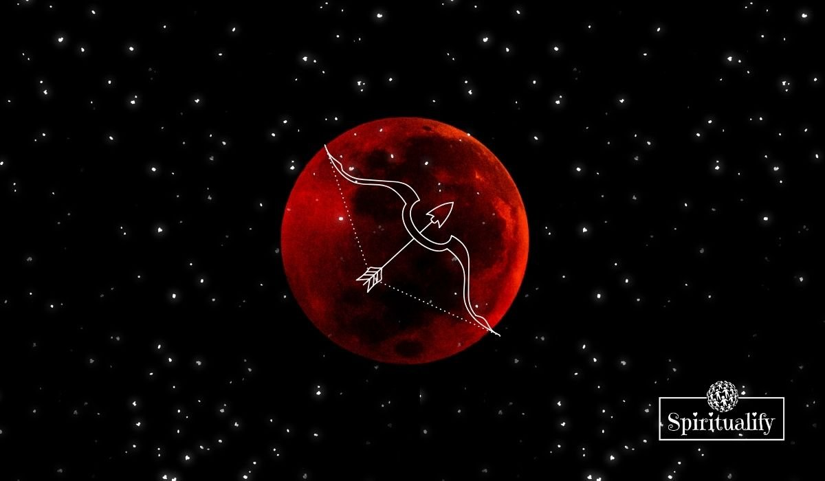 A Full Blood Moon Eclipse Graces the Skies in Sagittarius May 2021